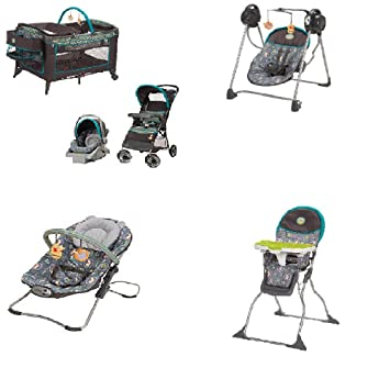 Disney Baby Stroller And Travel System Gear Bundle Collection With StrollerCar Seat Playard