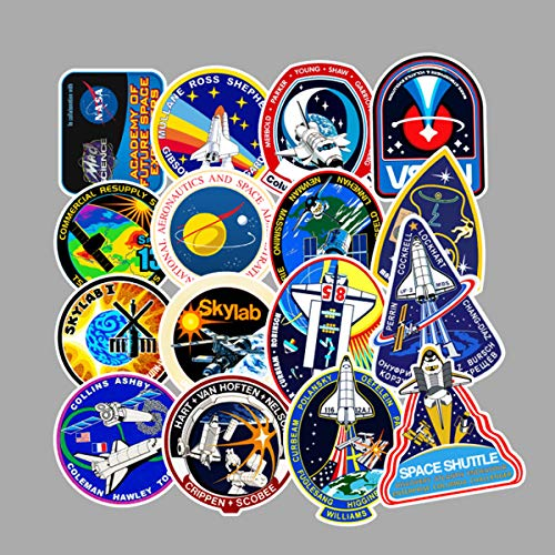 NASA Stickers for Laptop Space Explorer Galaxy Vinyl, used for sale  Delivered anywhere in Canada