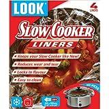 LOOK 'NO MESS' Slow Cooker Liners 55cm x 30cm