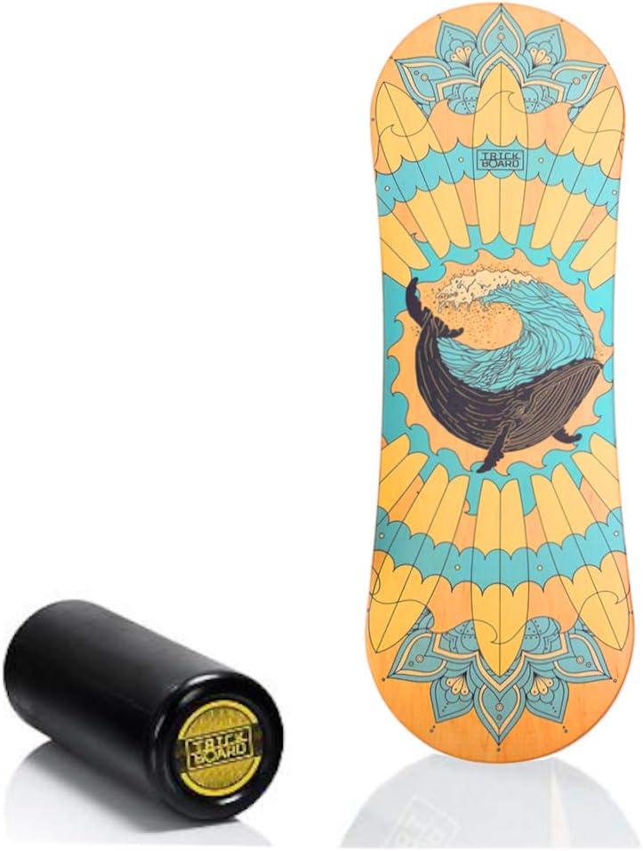 Aufkleber kostenlos Trickboard Tropical Balance Board Classic Version
