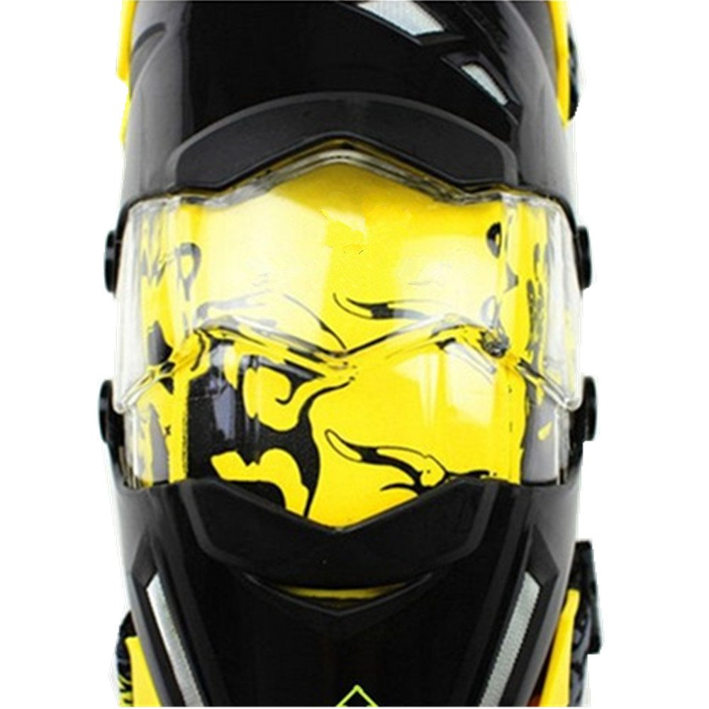 QAR Anti-Fall Knee Protector Motorcycle Racing Protective Gear Outdoor Off-Road Riding Protective Gear Kneepad by QAR (Image #5)