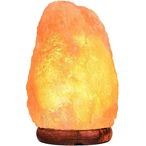 Amazon.com: Himalayan Salt Lamp PULNDA Glow Natural Hand Carved ...