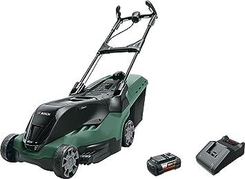 Bosch 0 600 8B9 800 Cortacésped con batería 6.0 Ah, 36 V, Negro/Verde: Amazon.es: Bricolaje y herramientas