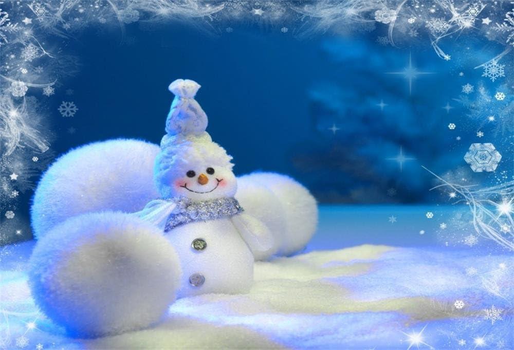 10X5FT-Christmas Tree Gift Photography Backdrops Window Decoration Wood Floor Snow Photo Studio Background