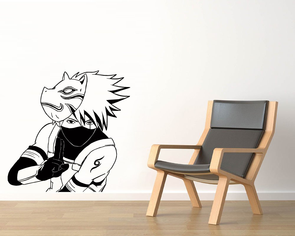 Amazon.com: Hatake Kakashi Vinyl Wall Decals Copy Ninja Anbu ...