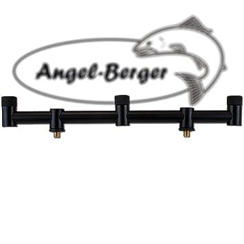 Angel Berger Heavy Black Buzzer Bar mit Autolock 3 Rods