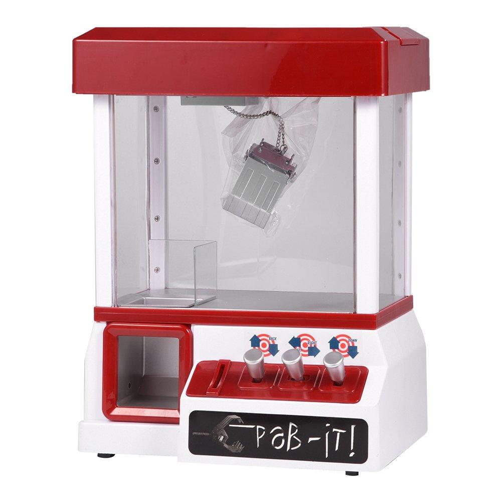 GLOGLOW Mini Dolls Machine Electronic Musical Plush Toys Catcher Mini Arcade Machine Home Play for Children Kids