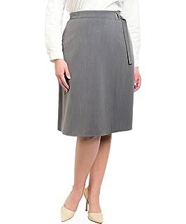 3938d77b118 VINA VINO Women s Plus Size High Waist A line Flared Knee Length Skirt