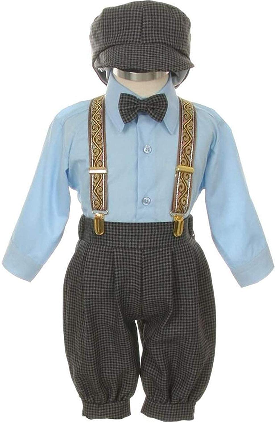 SK Vintage Dress Suit-Tuxedo Knickers Outfit Baby Boys /& Toddler