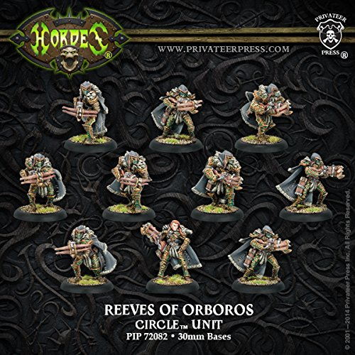 PIP72082 Circle Orboros: Reeves/Wolves of (Double Bladed Spear)
