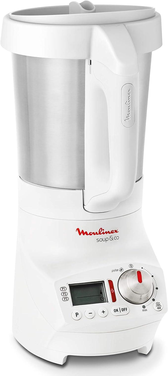 Moulinex Soup & Co LM904110 - Sopera eléctrica, recetas frías y ...