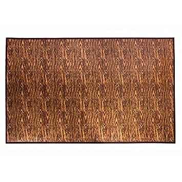 Teppich design textur  Amazon.de: Teppich Bambus natur-Design Textur Holz rutschfest