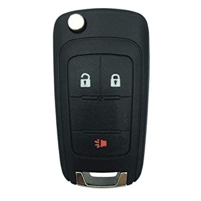 Replacement Remote Key Cover for Chevrolet Equinox, Sonic, Terrain Keyless Entry Remote Control Car Key Fob: Car Electronics