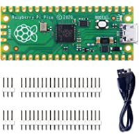 GeeekPi Raspberry Pi Pico Kit de microcontrolador flexible Mini placa de desarrollo, basado en la Raspberry Pi RP2040…