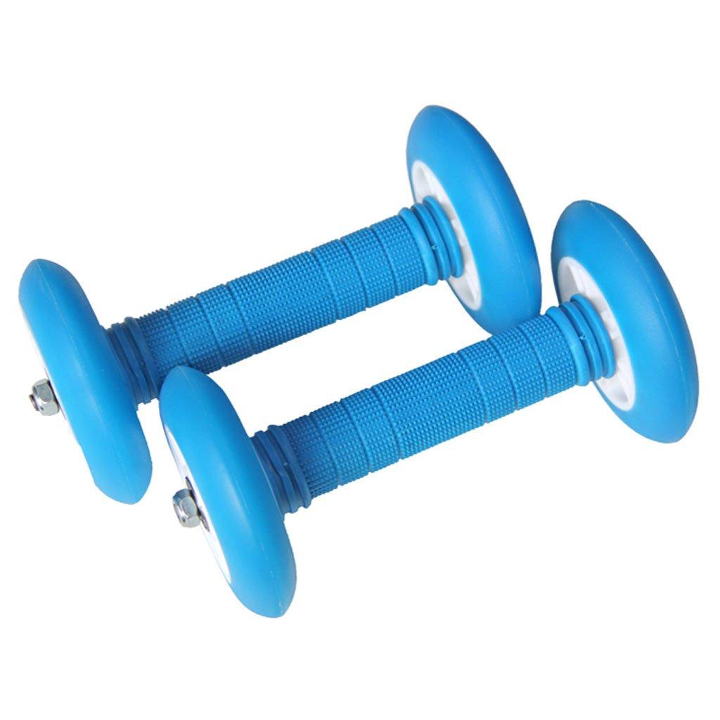AB Roller Ab Rad Bauchtrainer Übung Roller und Knie Pad, bequemen Griff, Krafttraining Bauchmuskeln für eine Gute Gesundheit. AB Roller Bauchtrainer