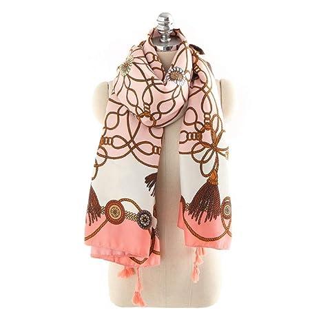 Wagyunfei Bufandas De Las Mujeres Spring Summer Cómodo Travel Pink Toalla De Playa (Color :