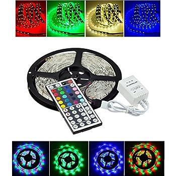 Amazon 164ft 12v flexible led light strip klaren led tape 164ft 12v flexible led light strip klaren led tape light 5050 rgb color changing audiocablefo