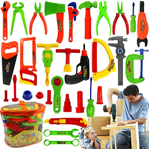 New Maintenance Toolbox Portable Children Playset Pretend Repair Kit Kids Educational Play House Toy By Letbo LetBG