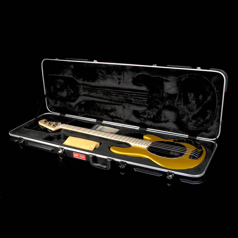 Ernie Ball Music Man Stingray 4 H Electric Bass Guitar Firemist Gold