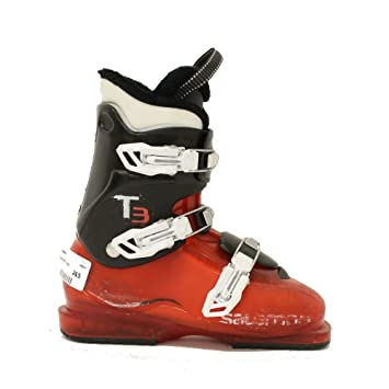 Amazon Com Used Ski Boots >> Used 2015 Salomon T3 Youth Size Kids Ski Boots Boys 23 5