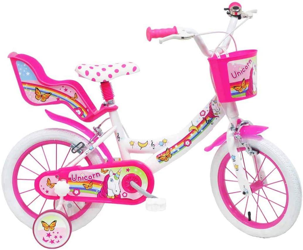 Unicorn - Bicicleta de niña de 4 a 6 años: Amazon.es: Deportes y ...