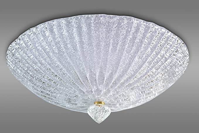 Plafoniere Cristallo : Plafoniera graniglia cristallo: amazon.it: illuminazione