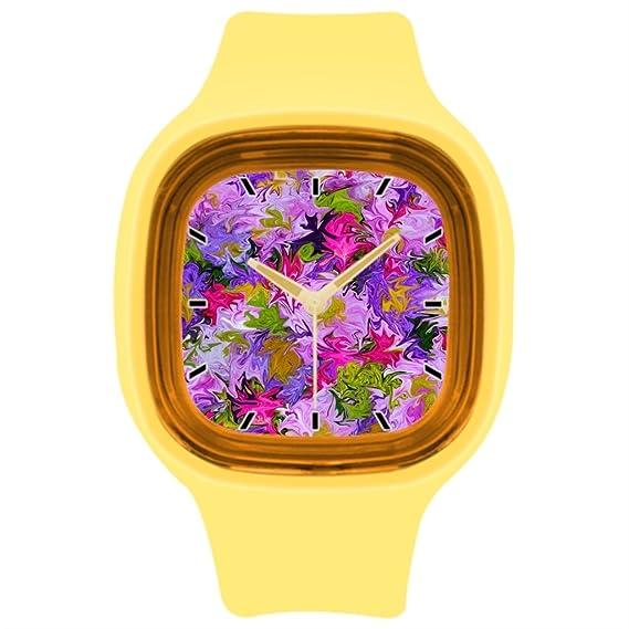 kosmore deportes colores deportes reloj de pulsera Mejores reloj deportivo amarillo: Amazon.es: Relojes