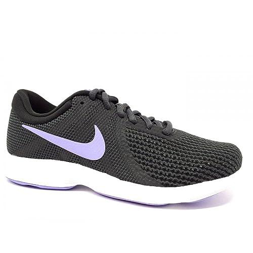 Wmns Nike Revolution 4 EU AJ3491 006 mesh anthracite scarpe running donna