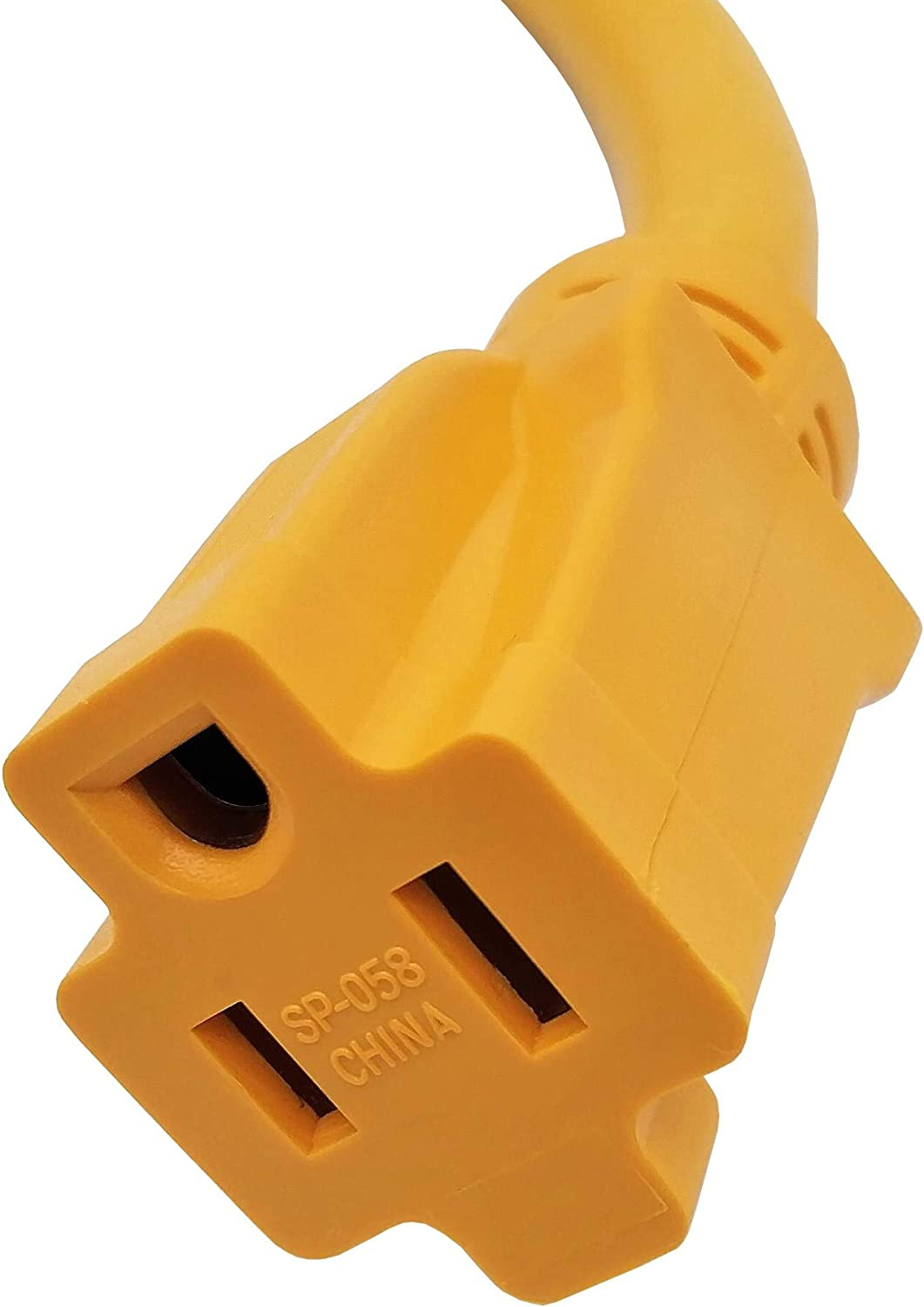 Parkworld 691975 RV Pigtail Shore Power 30A to 15A Dogbone Adapter Power Cord Twist Lock L5-30P Male to 5-15R Female: Sports & Outdoors