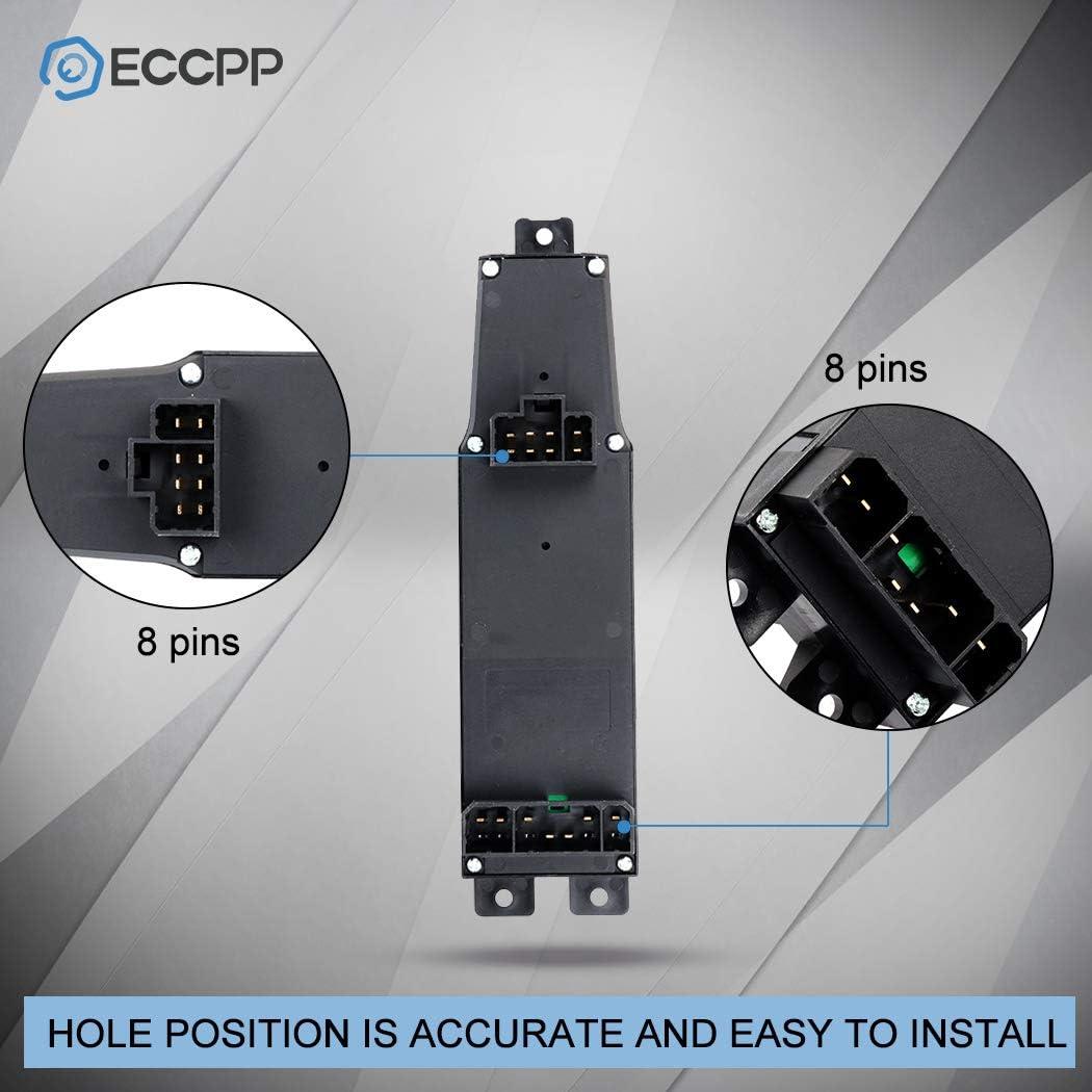 ECCPP for 1997-2001 Jeep Cherokee Power Window Switch 123759-5211-1526594021