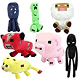 Animal Plush Toy Dolls, 7 Pieces