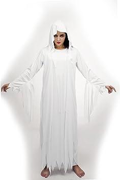 SEA HARE Disfraz de espíritu Fantasma Blanco Adulto de ...