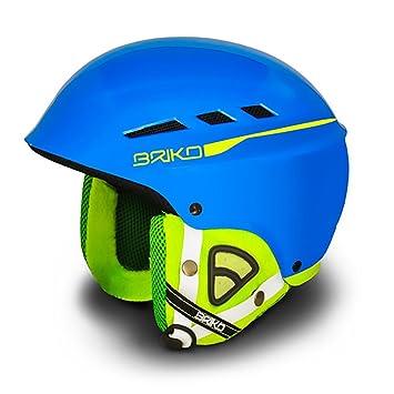 Briko Book Casco Ski Helmet - Sky Blue Lime-Size: M (57-