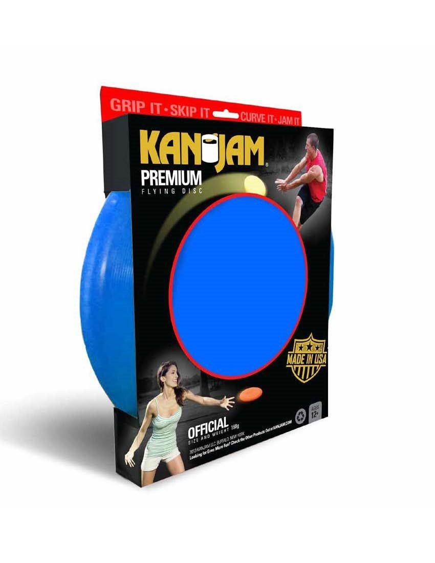 Kan Jam Flying Disc, Blue (168g) by Kan Jam