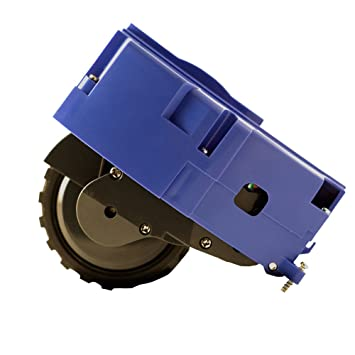 ASP ROBOT Rueda lateral derecha para Roomba 620 Serie 600. Recambio ORIGINAL repuesto compatible para aspirador irobot Rumba Serie 6 ALTA CALIDAD: ...