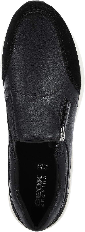 Geox D Omaya B Baskets Mode pour Femmes Chaussures Black
