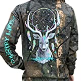 Country Life Dream Catcher Deer Tree Camo Long Sleeve Shirt (Large) offers