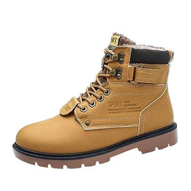 5f278093c89e Hommes Chaussures Bottes Bottines de Sécurité Randonnée Villes Chaude  Velours