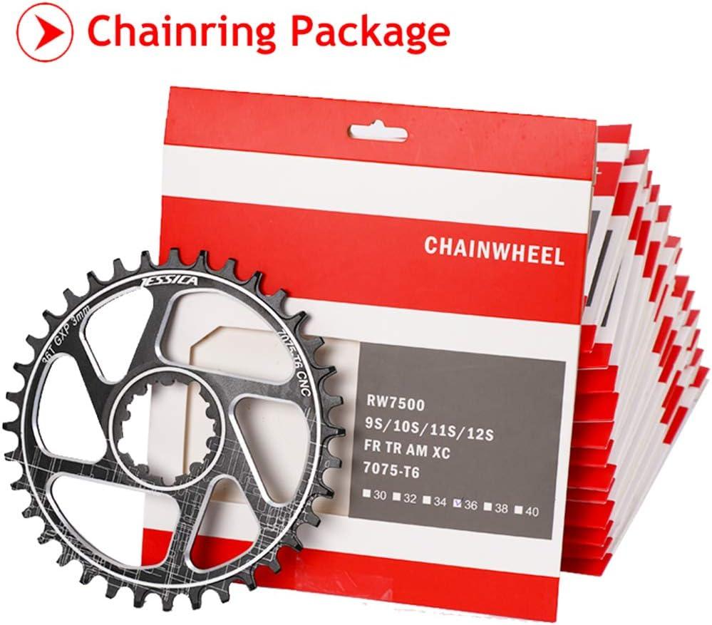 JESSICA GXP 3mm 32-38T Narrow Wide Chainring MTB Bike Chainwheel Direct Mount US