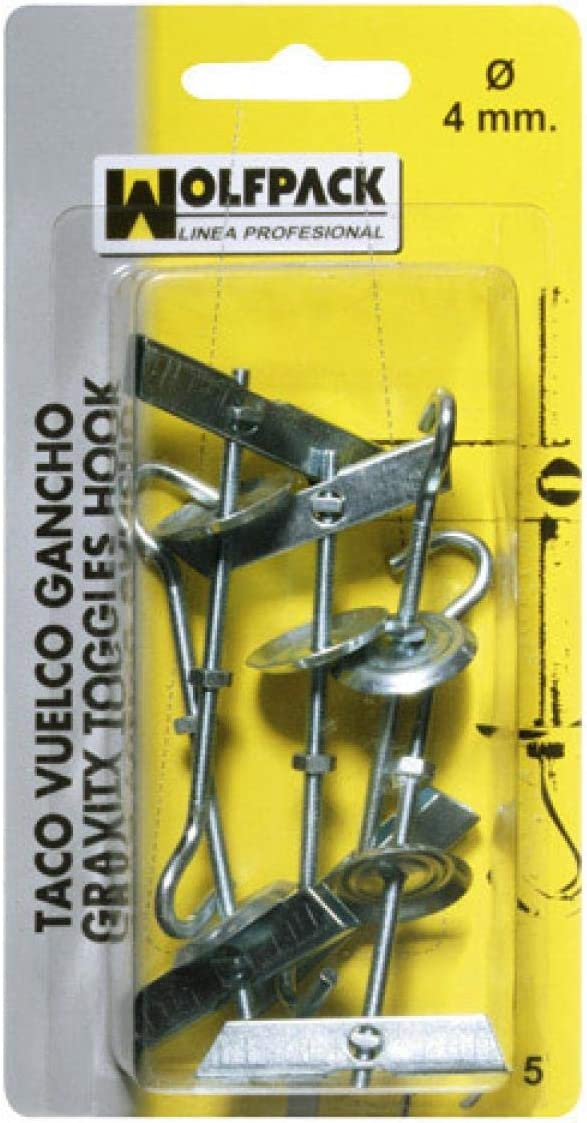 Wolfpack 13132220/ /Pack of 2/Studs of Overturning with Hook M6