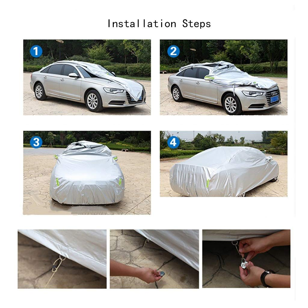 Thick and Cotton Velvet Hood Color : C, Size : 2007 6.0L Manual Yguocy Car Covers Compatible with AstonMartin DB9 Volante Can Adapt to All Kinds of Weather