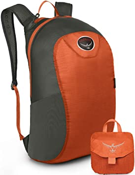 Osprey Ultralight Stuff Rucksack - Poppy Orange   Backpack Bag Pack Sack  Case Luggage Baggage Carrier Carry Stowable Stow Collapsible Collapse  Compact Small ... eb3a3758a627d