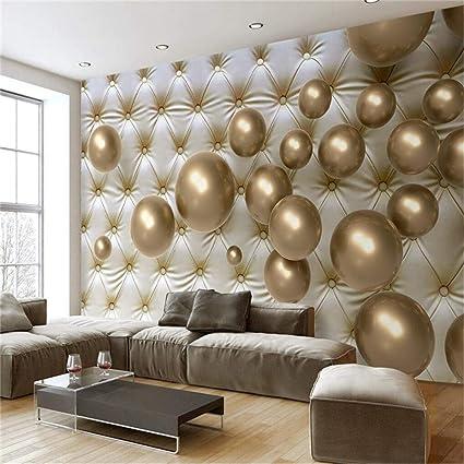 Reagonr Peinture Murale Pour Salon Ballon Doré Softpack