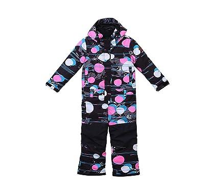 e665d62593ec Amazon.com  WOWU Girls Skisuit One Piece Waterproof Snowsuit ...