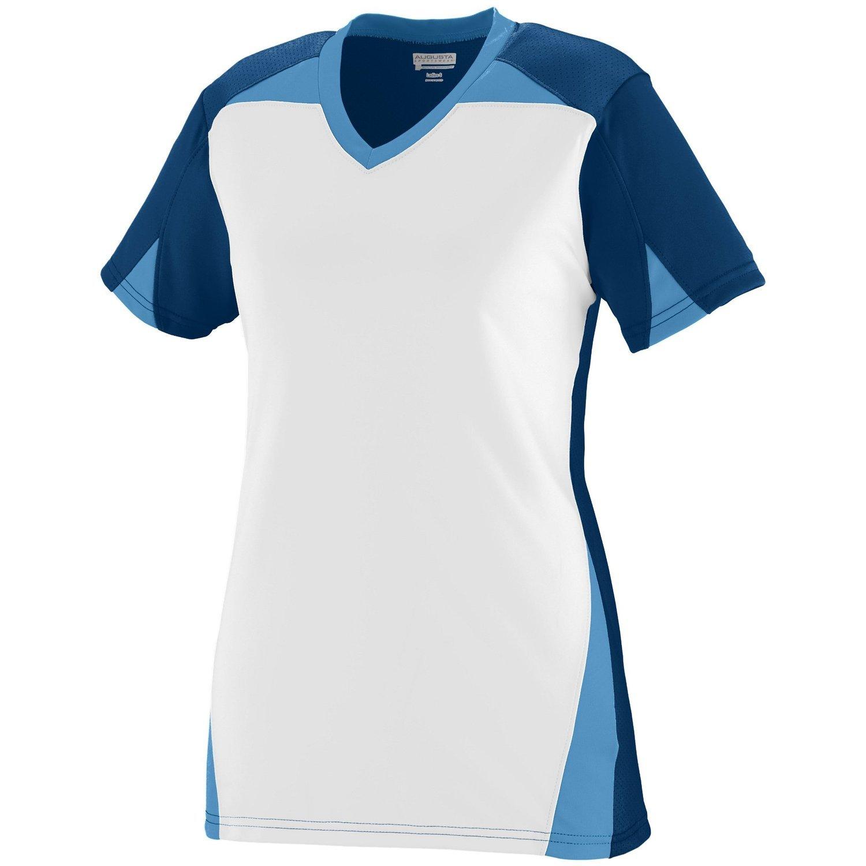 Augusta Sportswearレディースマトリックスジャージー B00P541AP0 xx-large|Navy/White/Columbia Blue Navy/White/Columbia Blue xx-large