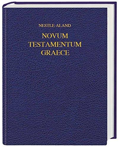 Novum Testamentum Graece: Schreibrand-Ausgabe