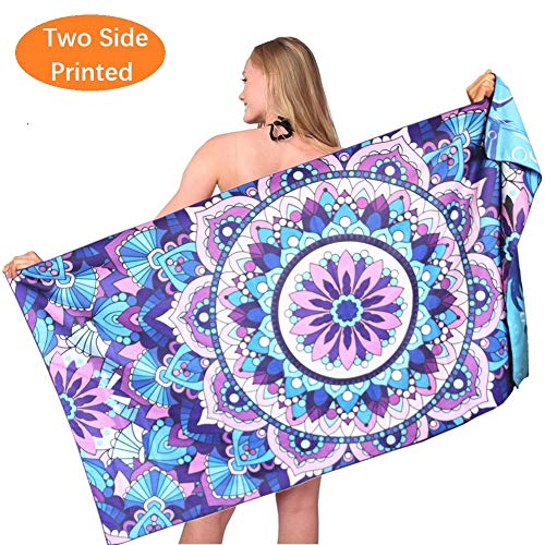Mandala Towel Quick Absorbent Oversized Swimming product image