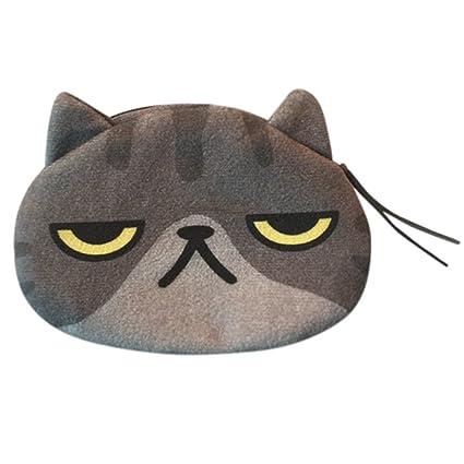 Monedero Creativo de Gato con Estampado Digital Regalo para ...