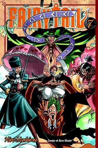 fairy tail manga book 1 - 6