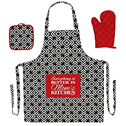 Funny 3-Piece Cooking Apron Set